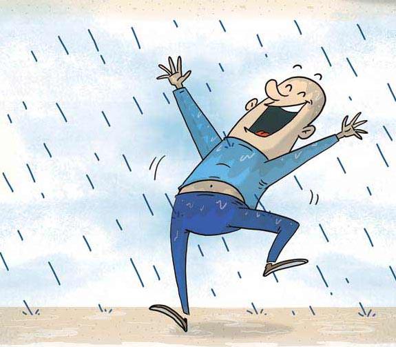 acidic rain