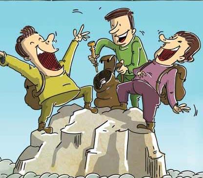 Smokers mountaineers